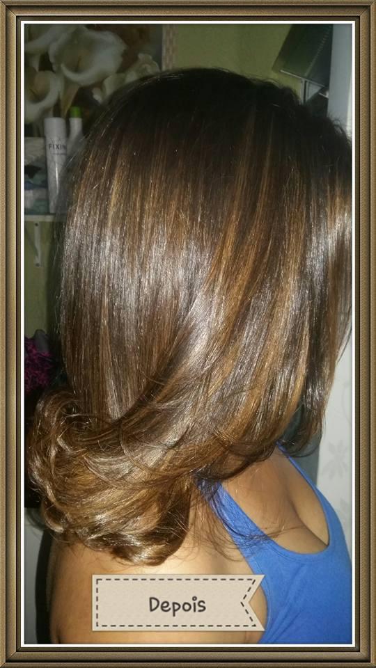 Depois das luzes... cabelo auxiliar cabeleireiro(a)