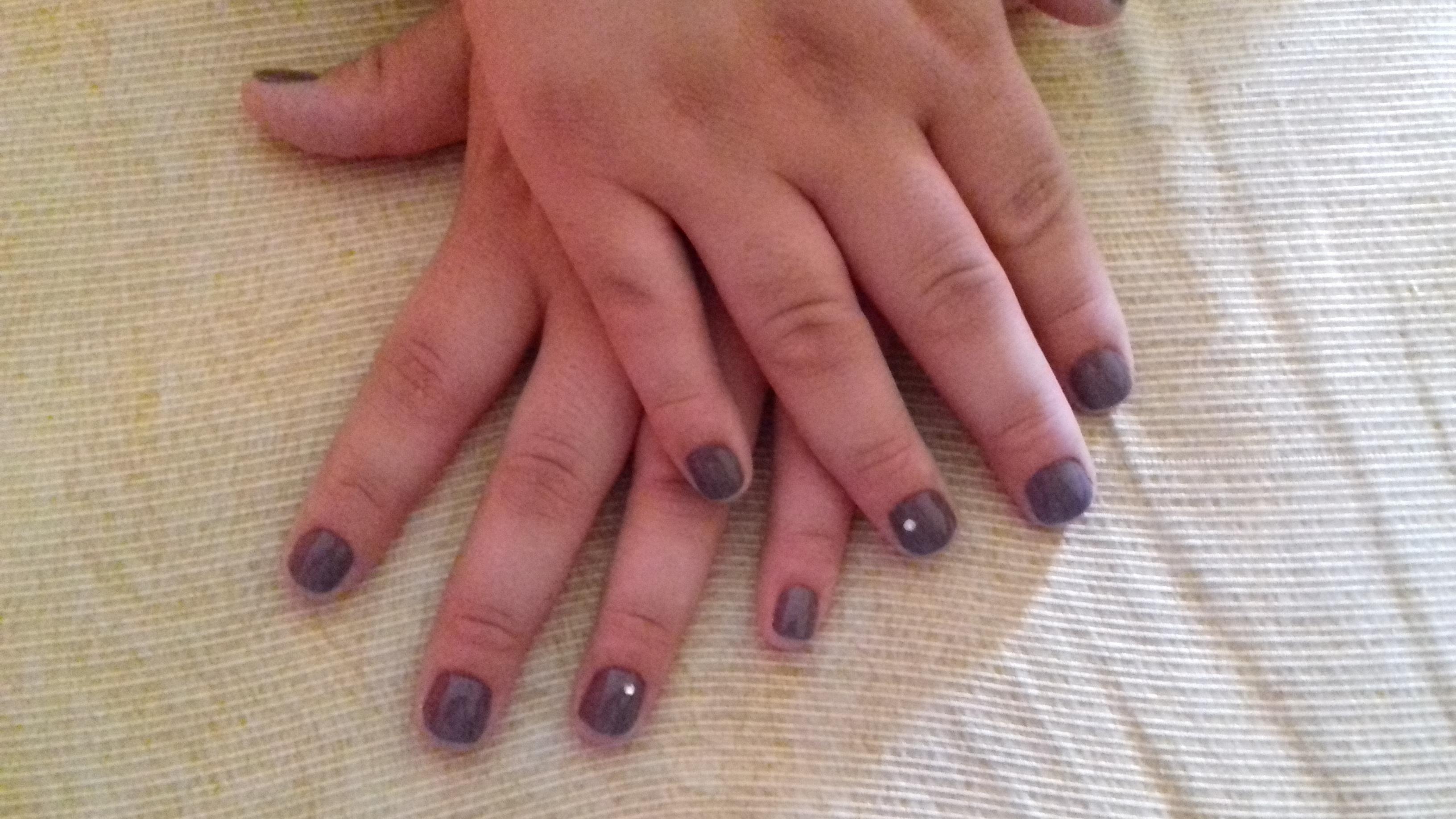 #feliznoquetrabalhoamomuitoooo unha manicure e pedicure