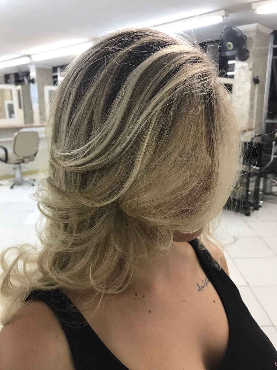 Amei brincar com esse cabelo 😍 cabelo auxiliar cabeleireiro(a) vendedor(a)