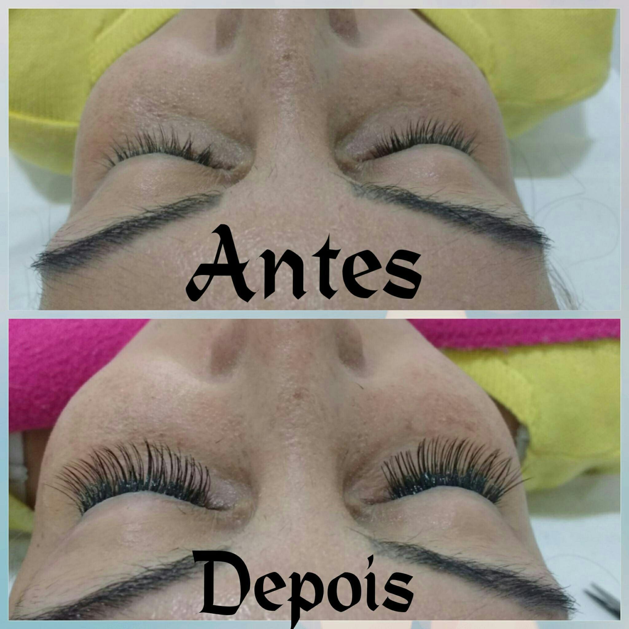 Embelezamento do olhar com alongamento de cílios fio a fio outros esteticista depilador(a) designer de sobrancelhas micropigmentador(a)