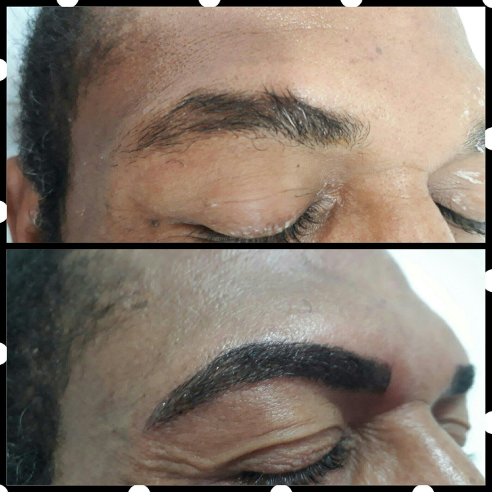 Microblaind masculina outros esteticista depilador(a) designer de sobrancelhas micropigmentador(a)