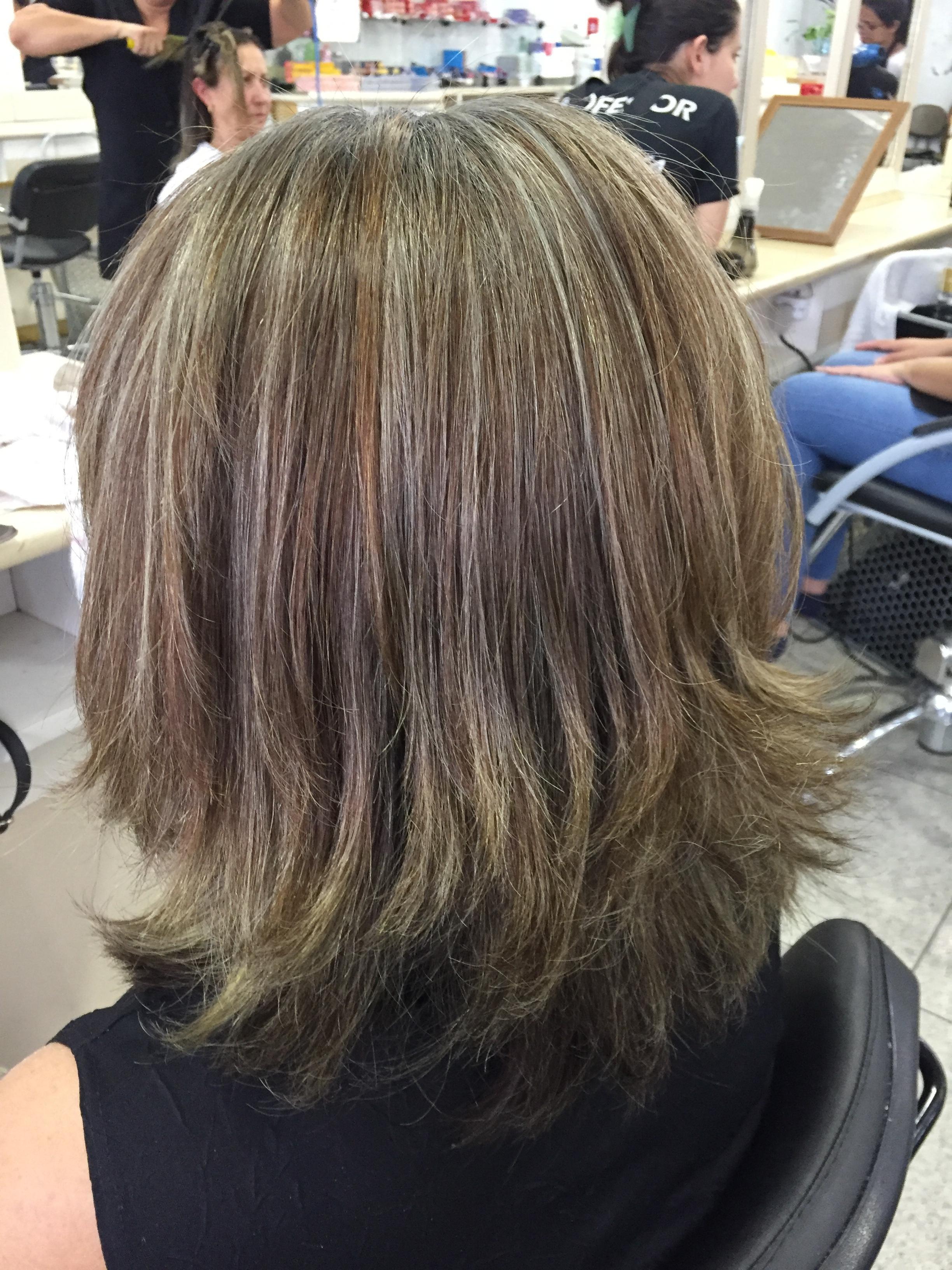 Depois das luzes  cabelo auxiliar cabeleireiro(a) cabeleireiro(a)