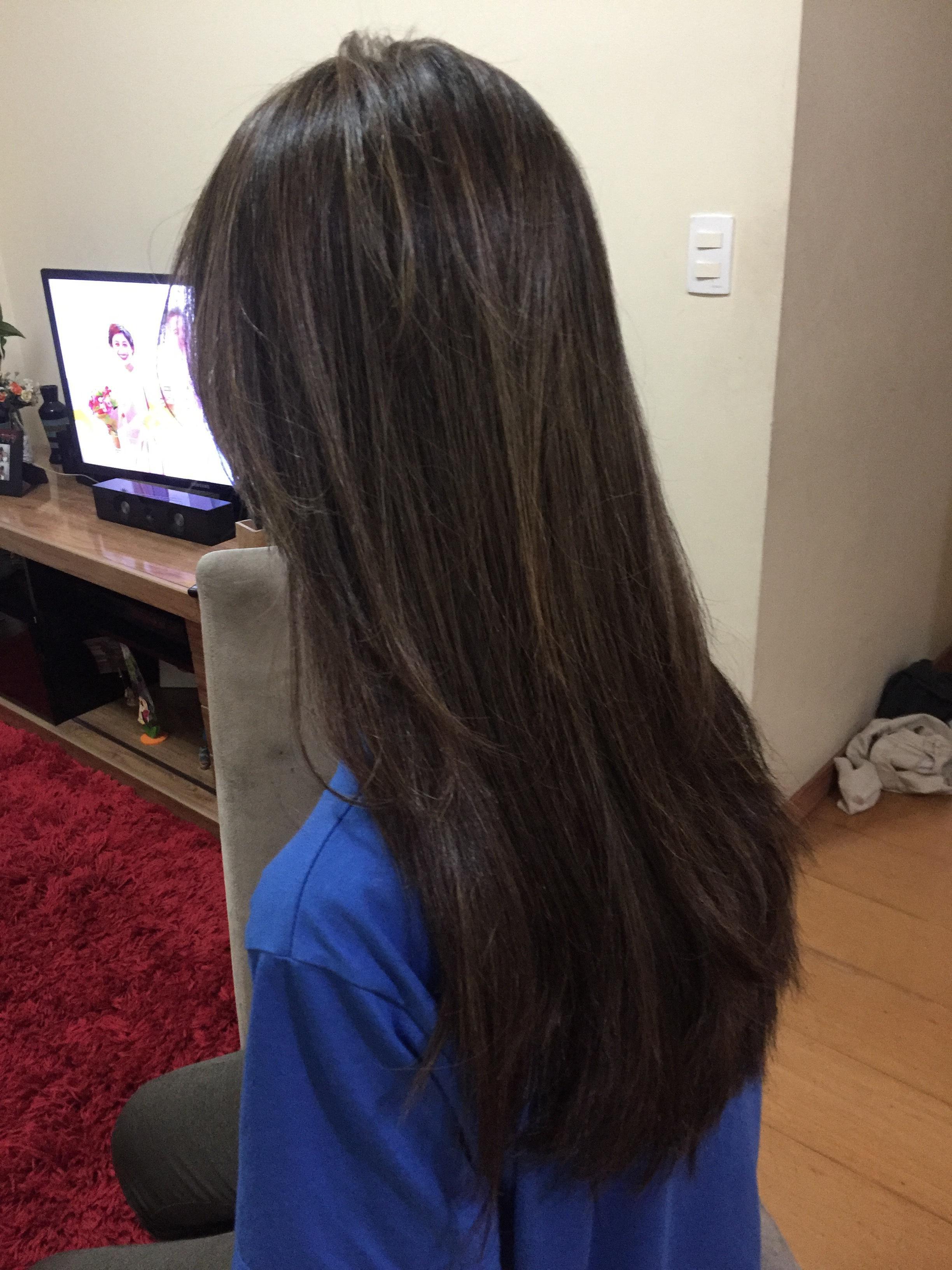 Retoque de luzes, corte e selagem  cabelo auxiliar cabeleireiro(a) cabeleireiro(a)