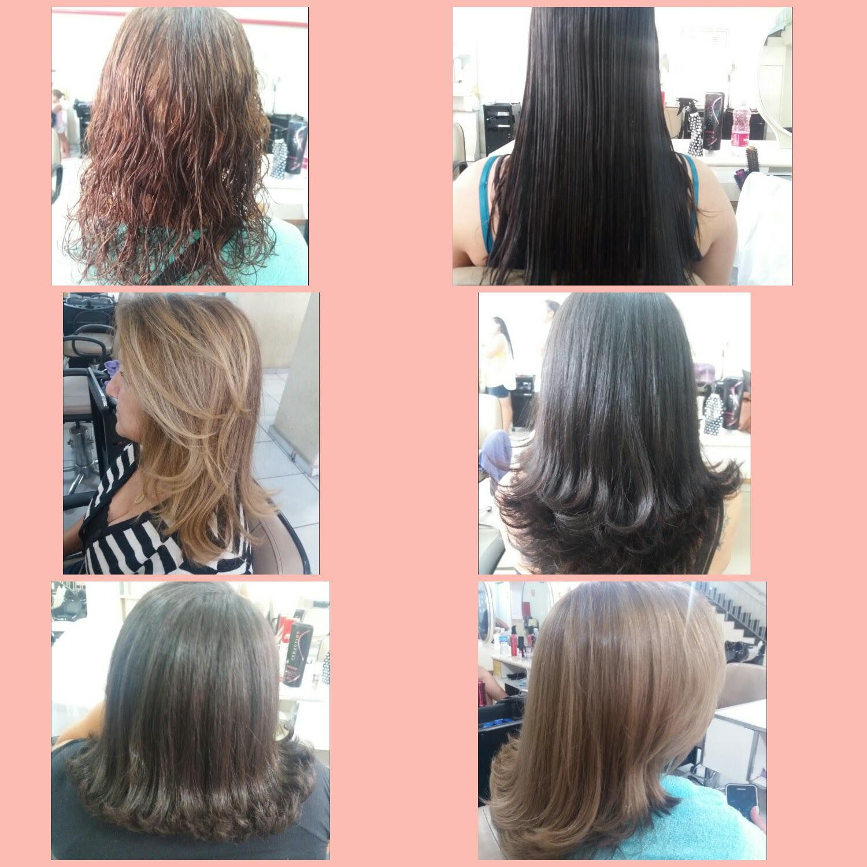 Varios Cortes.. #belezademulher #cabelosdiversos #escova #corte #cabeloshidratados   cabelo manicure e pedicure maquiador(a) cabeleireiro(a) auxiliar cabeleireiro(a) escovista