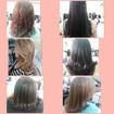 Varios Cortes.. #belezademulher #cabelosdiversos #escova #corte #cabeloshidratados