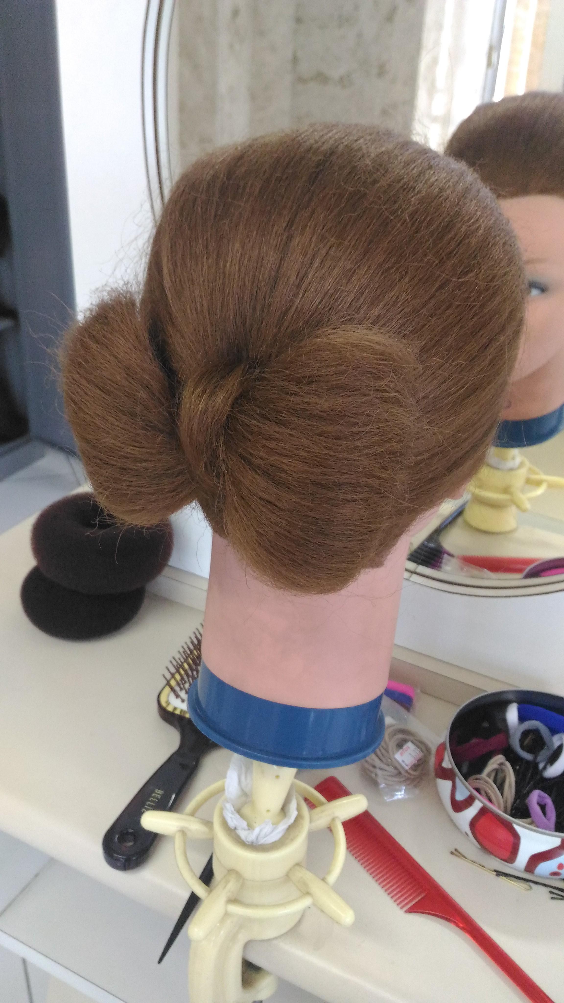 #penteado #laço cabelo estudante (esteticista) auxiliar cabeleireiro(a) estudante (designer sobrancelha) barbeiro(a) escovista cabeleireiro(a)
