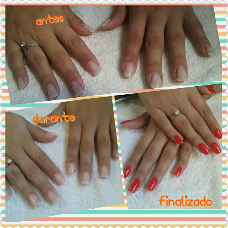 Manutenção da Unha de Gel :) unha manicure e pedicure maquiador(a) esteticista