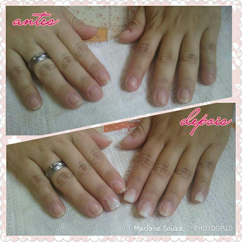 Unha de Gel em algumas unhas' unha manicure e pedicure maquiador(a) esteticista