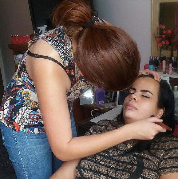 Maquiagem básica para uma gravidinha! Chá de bebê ❤ #makeupraynascimento maquiagem maquiador(a) designer de sobrancelhas