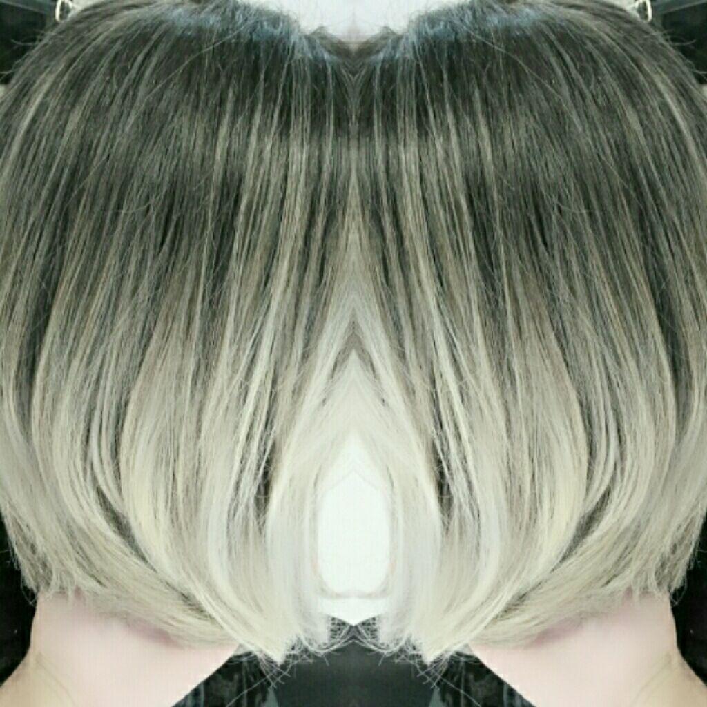 Ombre Hair seguido de mechas cabelo cabeleireiro(a) maquiador(a) designer de sobrancelhas visagista