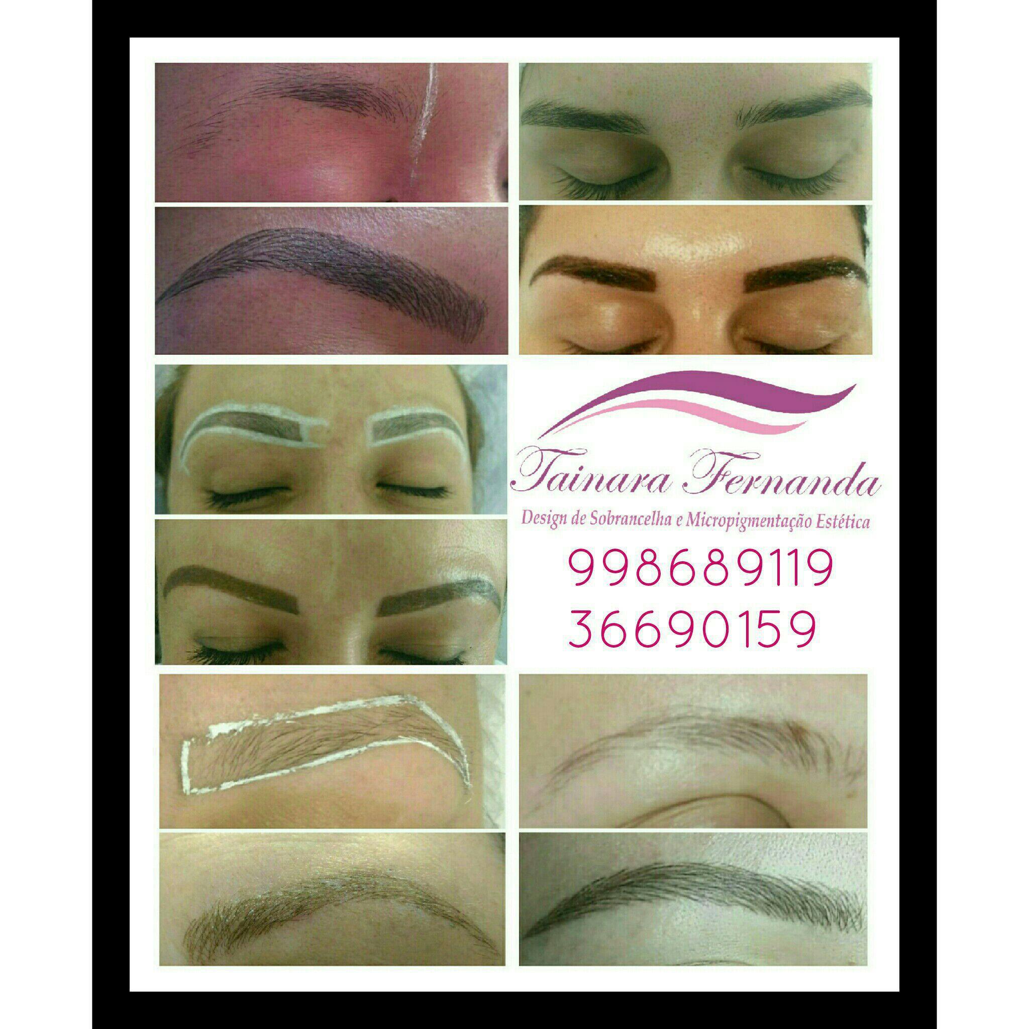 Micropigmentação fio a fio, compacta, esfumada, maquiagem definitiva e alongamento de cilios estética dermopigmentador(a) designer de sobrancelhas dermopigmentador(a)