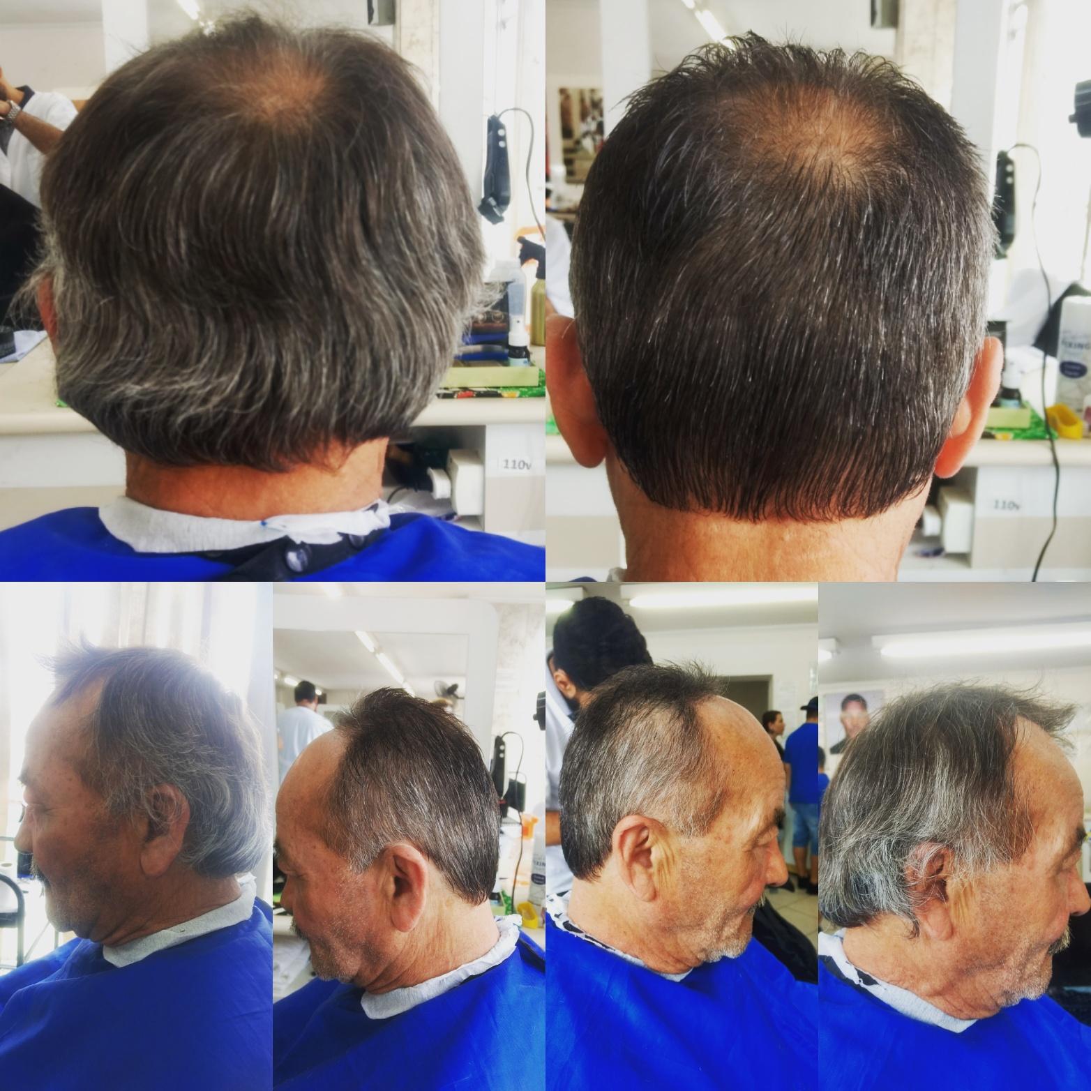 Pente livre cabelo barbeiro(a)