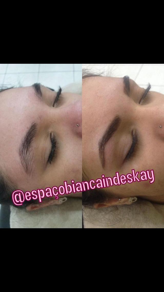 Designe de sobrancelhas + aplicação de henna  outros designer de sobrancelhas