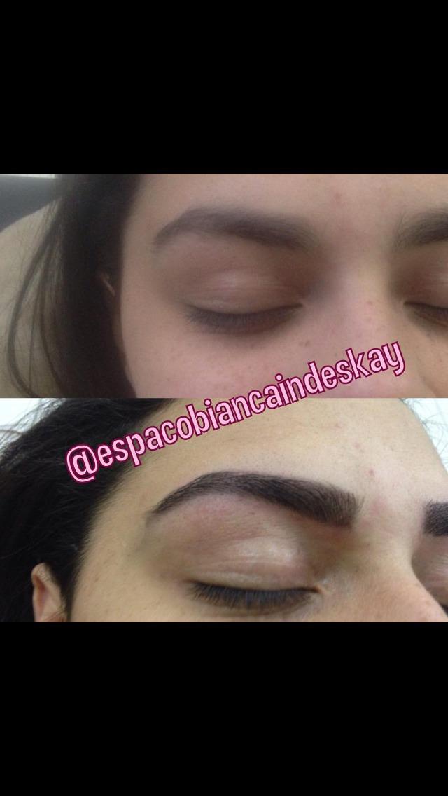 Designe + aplicação de henna  outros designer de sobrancelhas