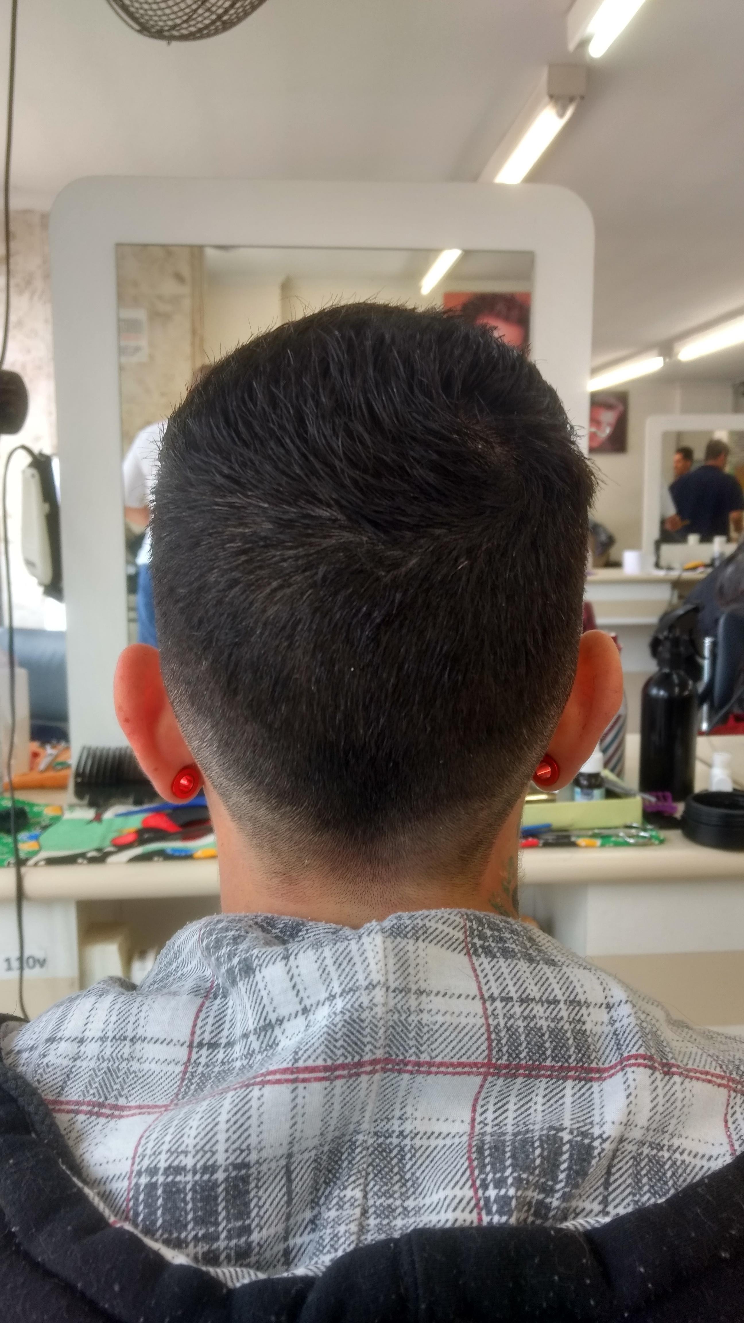 #fade #degrade cabelo barbeiro(a)