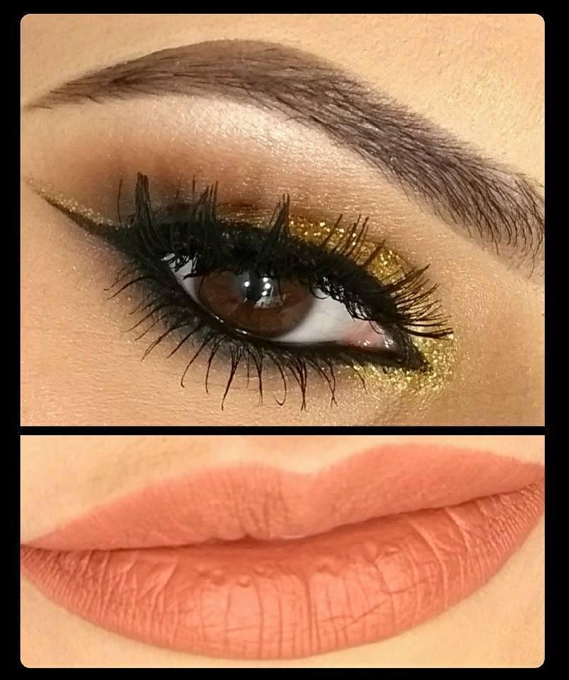 Sugestão de maquiagem para festas. maquiagem maquiador(a)