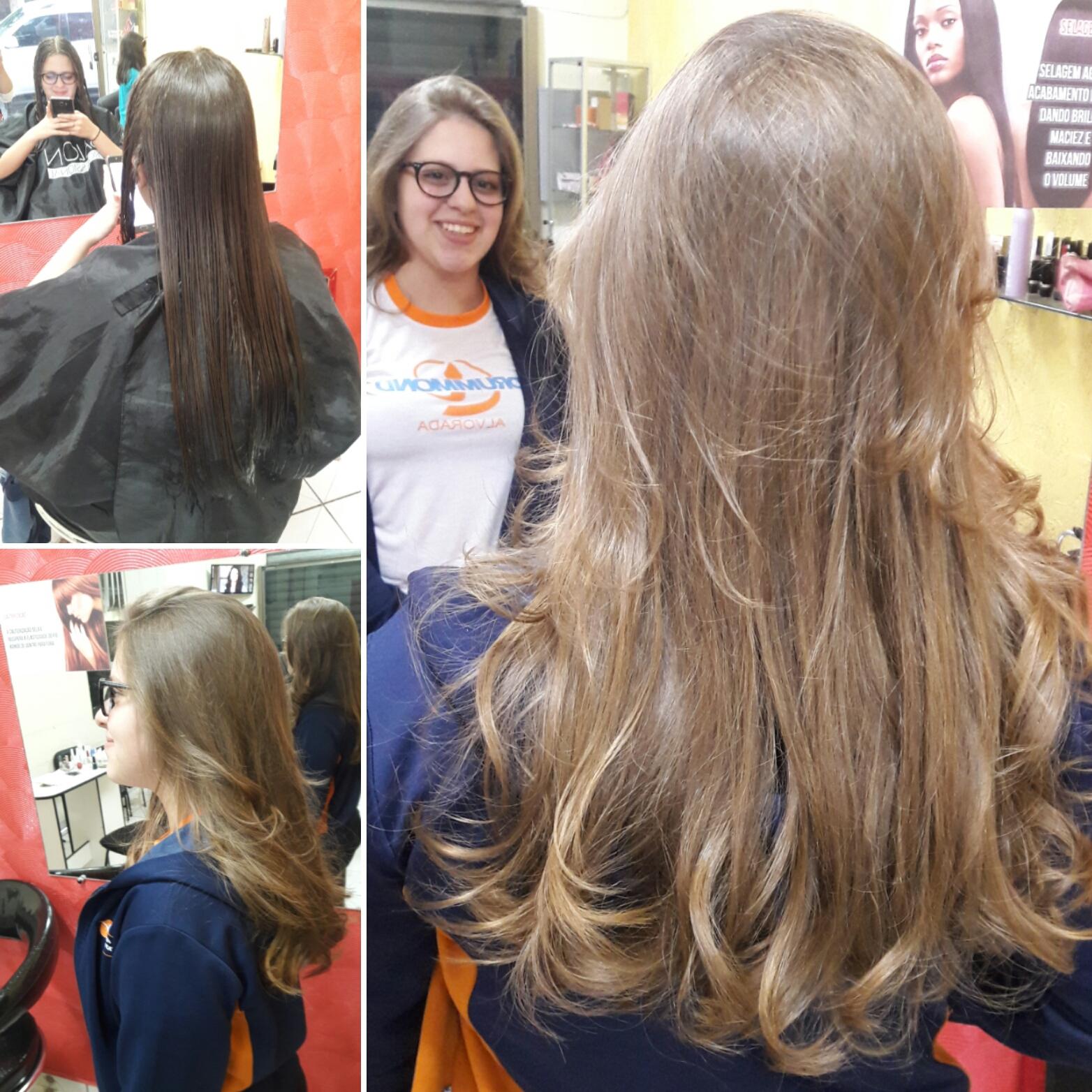 #haircut #hairstylist #hairdresser  Corte 45° e escova.  cabelo cabeleireiro(a)
