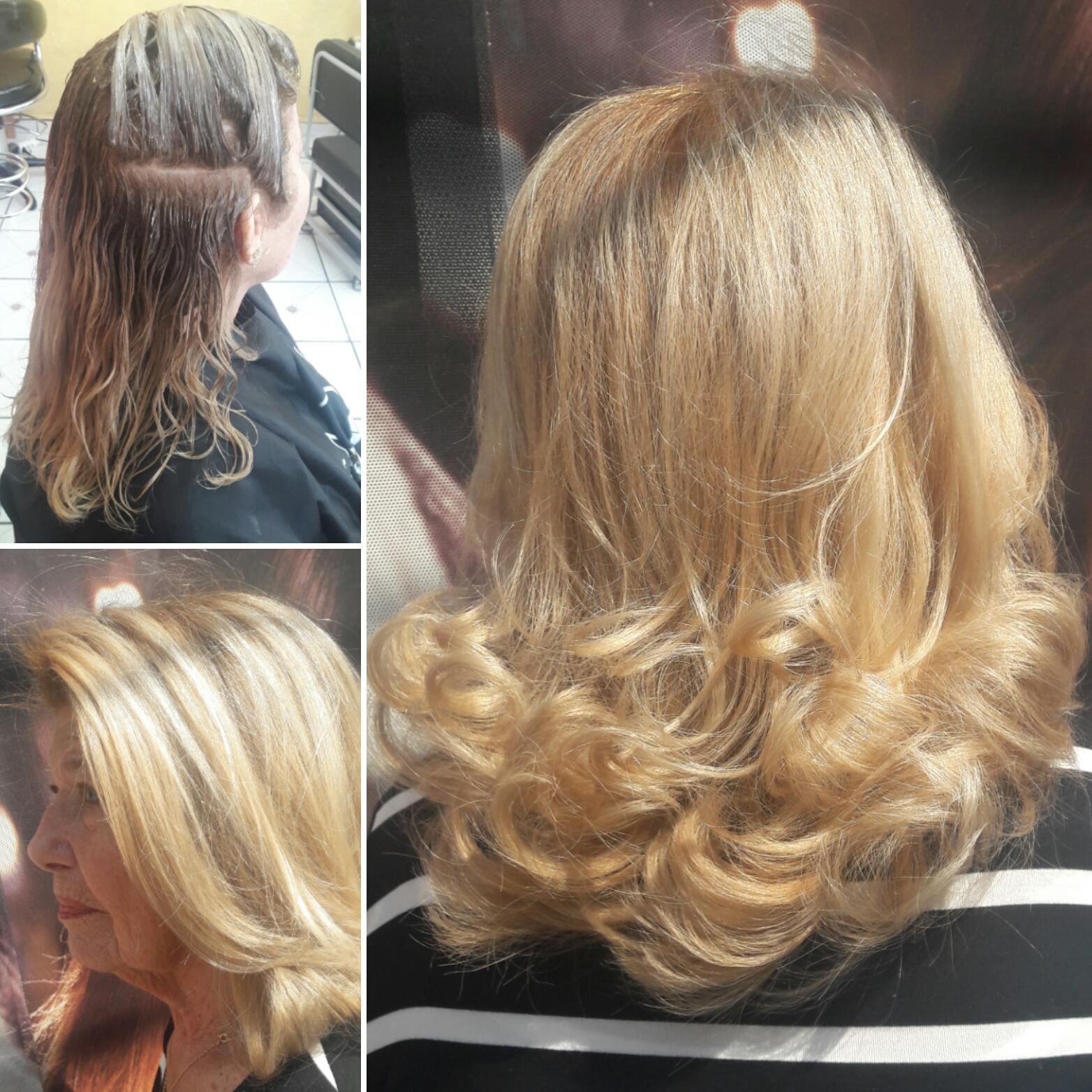 Retoque de raiz levemente esfumado. #hairstylist #haircut #hairdresser #beauty #corte @blessed.patty  cabelo cabeleireiro(a)