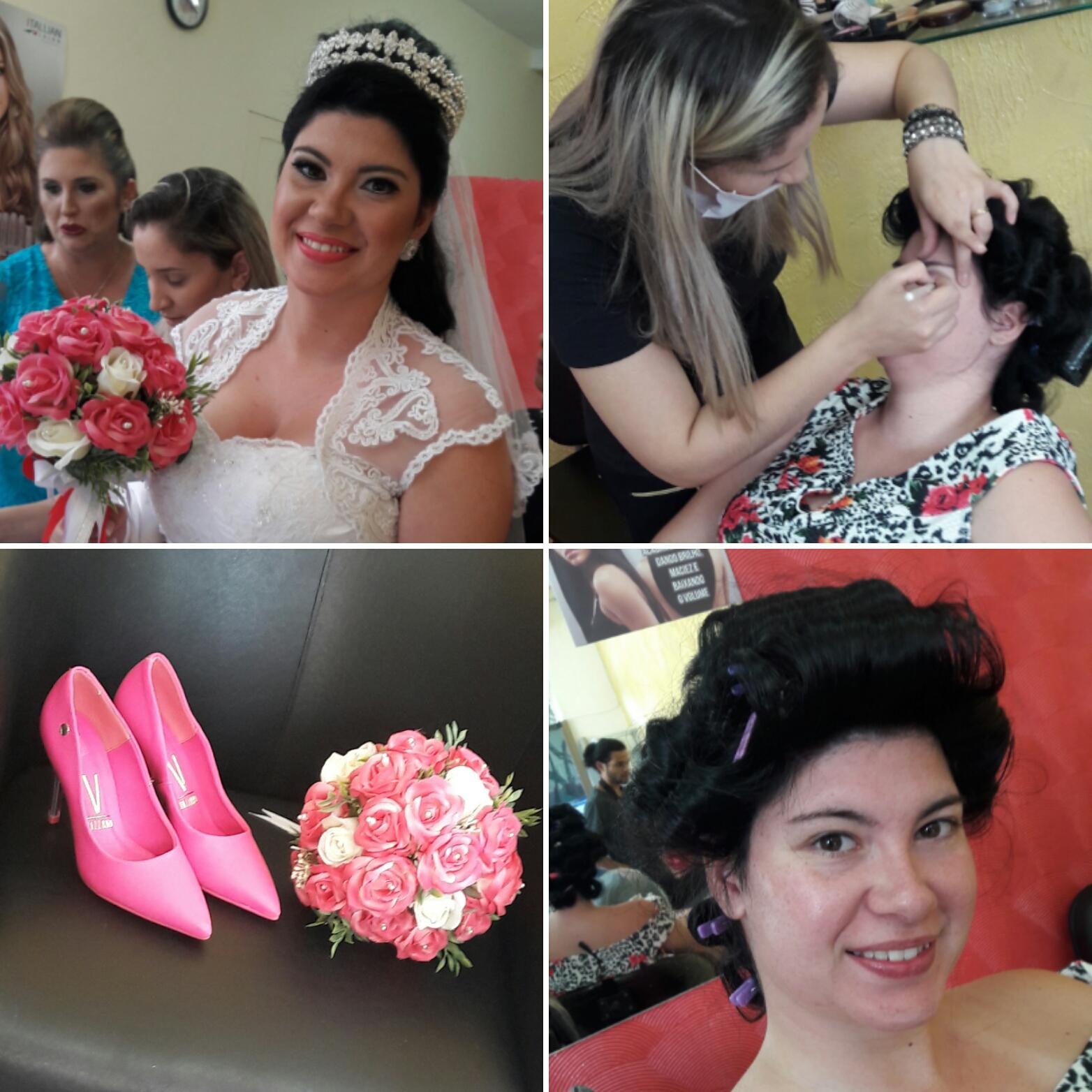 Penteado dia da noiva. #diadanoiva #penteado #hairstylist #haircut #hairdresser #hairdo #beauty #beleza @blessed.patty  cabelo cabeleireiro(a)