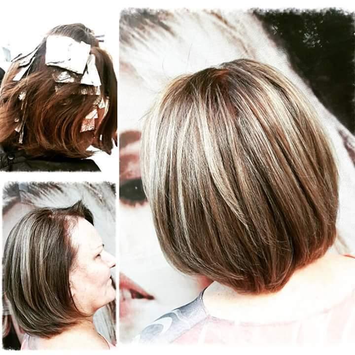 Luzes e corte. #hairstylist #haircut #hairdresser #beauty #beleza #blond #loira #salaodebeleza #beleza #beauty @blessed.patty  cabelo cabeleireiro(a)