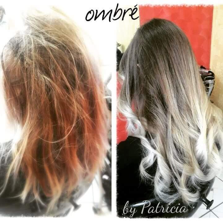 Ombré hair. #hairstylist #hairdresser #haircut #hairdo #beauty #beleza #blond #ombrehair #beauty #beleza @blessed.patty  cabelo cabeleireiro(a)