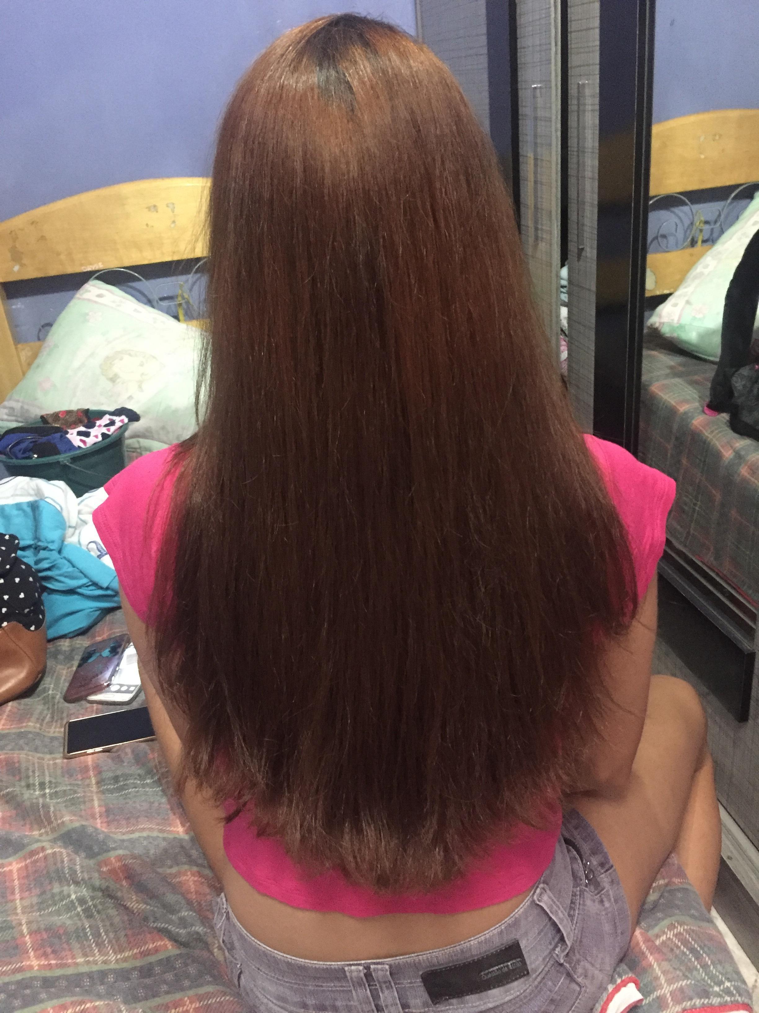 Corte V 💇🏻 cabelo