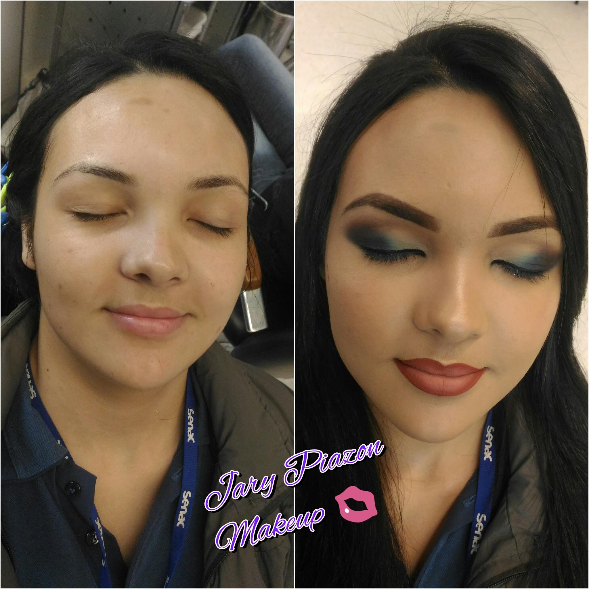 Esfumado pele oriental maquiagem maquiador(a)