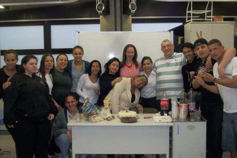 Turma do curso de massoterapia 2012 - SENAC SP.  outros massoterapeuta