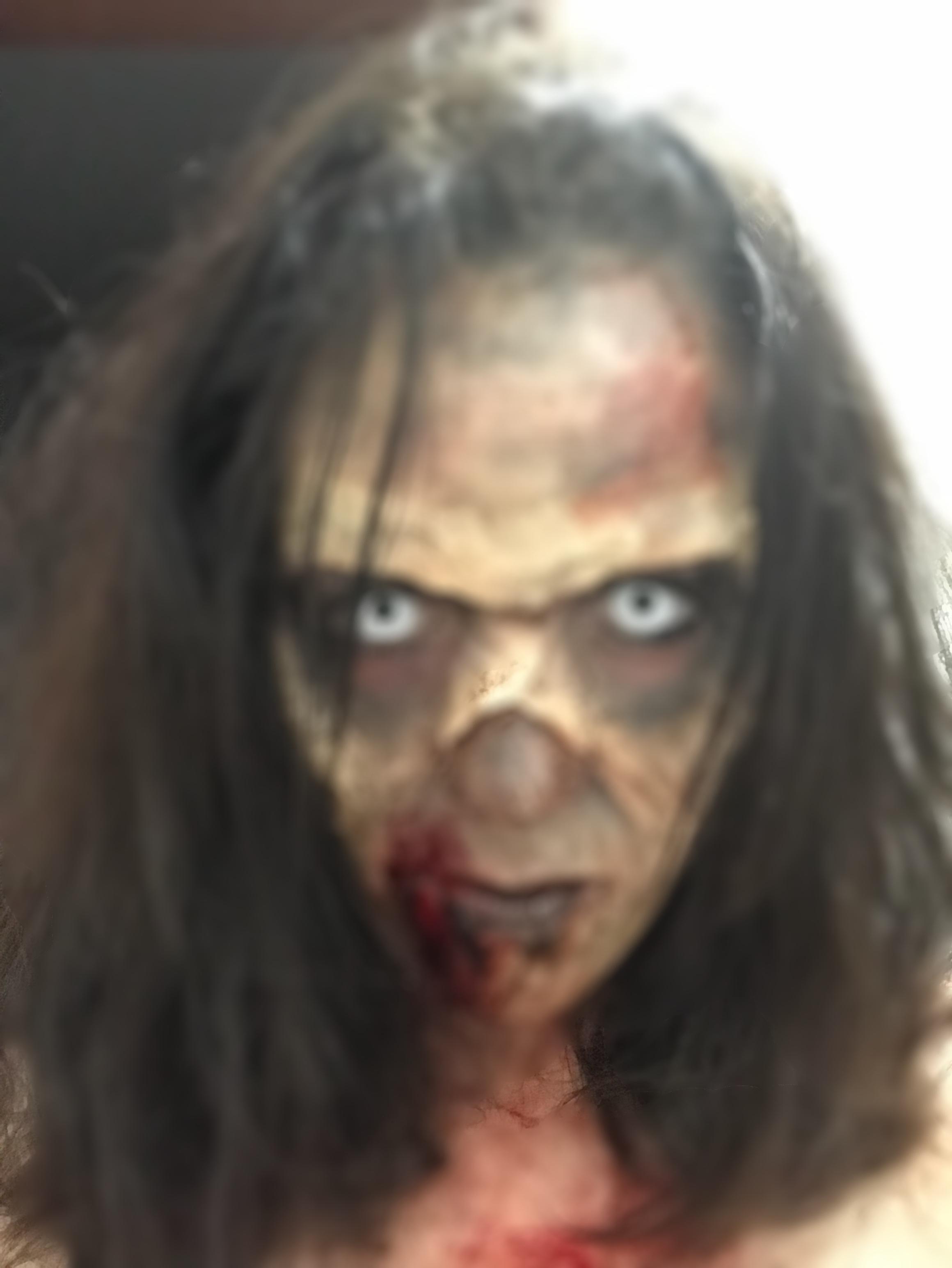 #zombie #makeup  maquiagem maquiador(a) maquiador(a) maquiador(a)