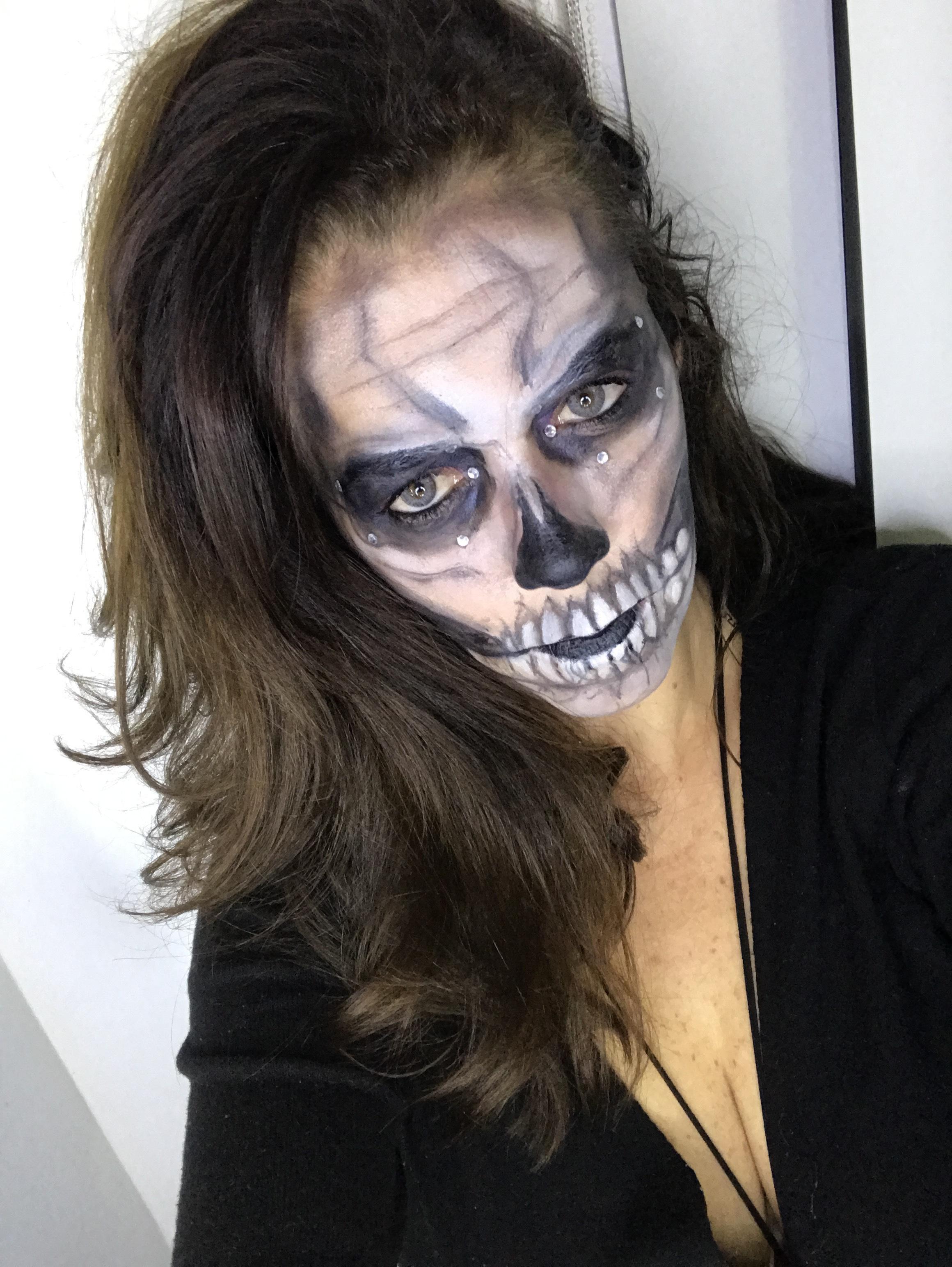 #skull maquiagem maquiador(a) maquiador(a) maquiador(a)