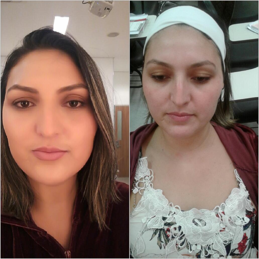 Esportiva maquiagem maquiador(a)