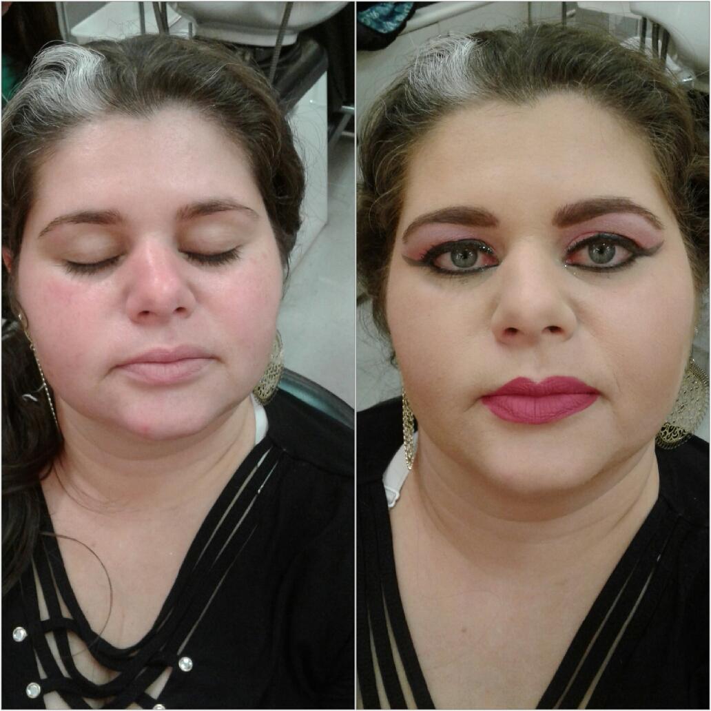 Criativa maquiagem maquiador(a)
