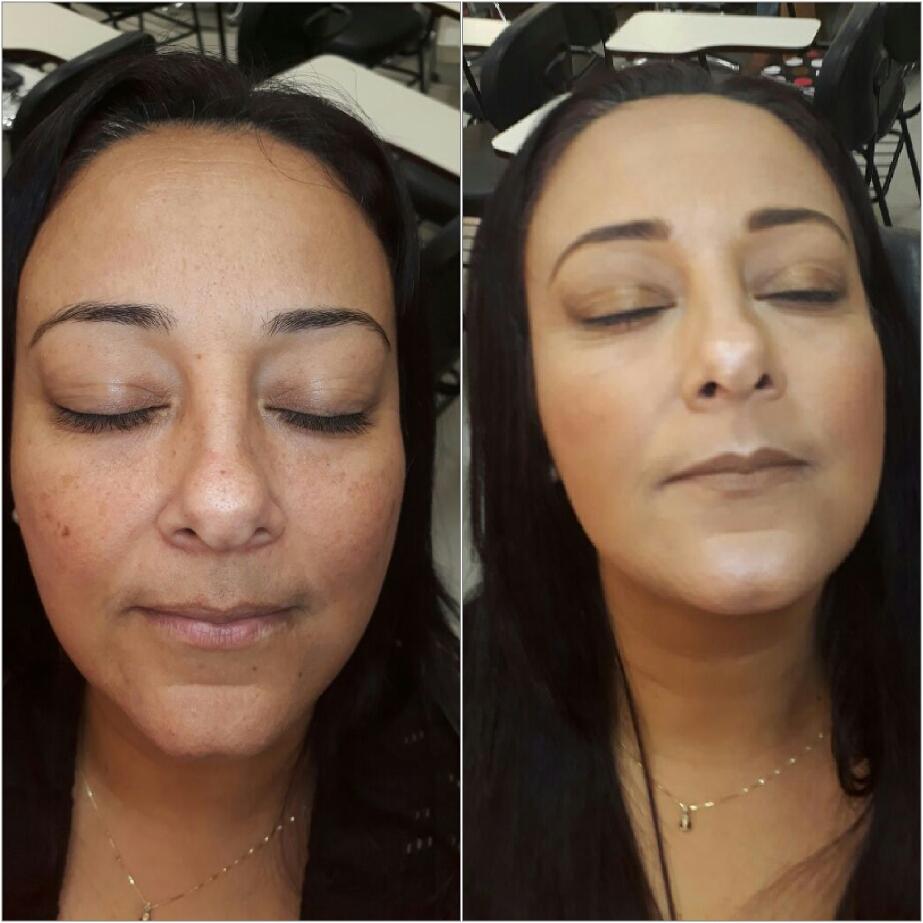Iluminada maquiagem maquiador(a)