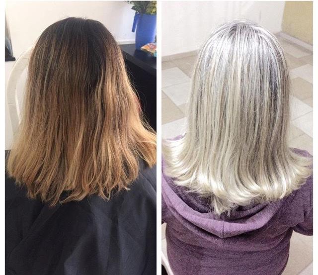 Reflexo tonalizado com 10.12 Diarichesse!  cabelo auxiliar cabeleireiro(a)