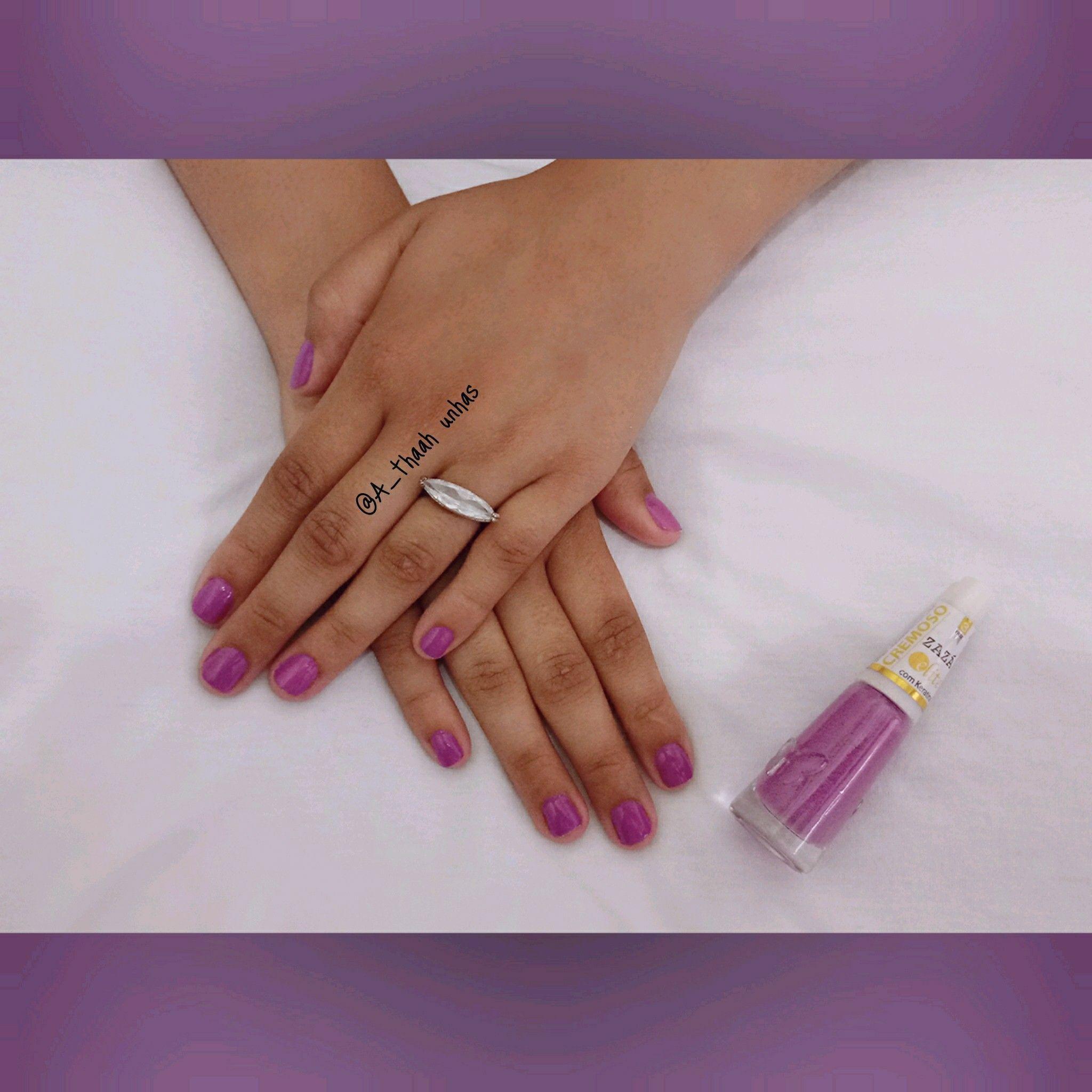 #Lilás #Zaza #ludorama #linda unha manicure e pedicure designer de sobrancelhas
