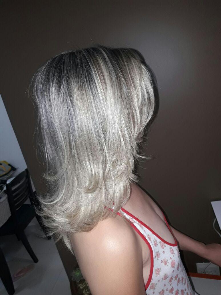Platinado! Sexy Divino cabelo cabeleireiro(a) maquiador(a) depilador(a) gerente consultor(a)