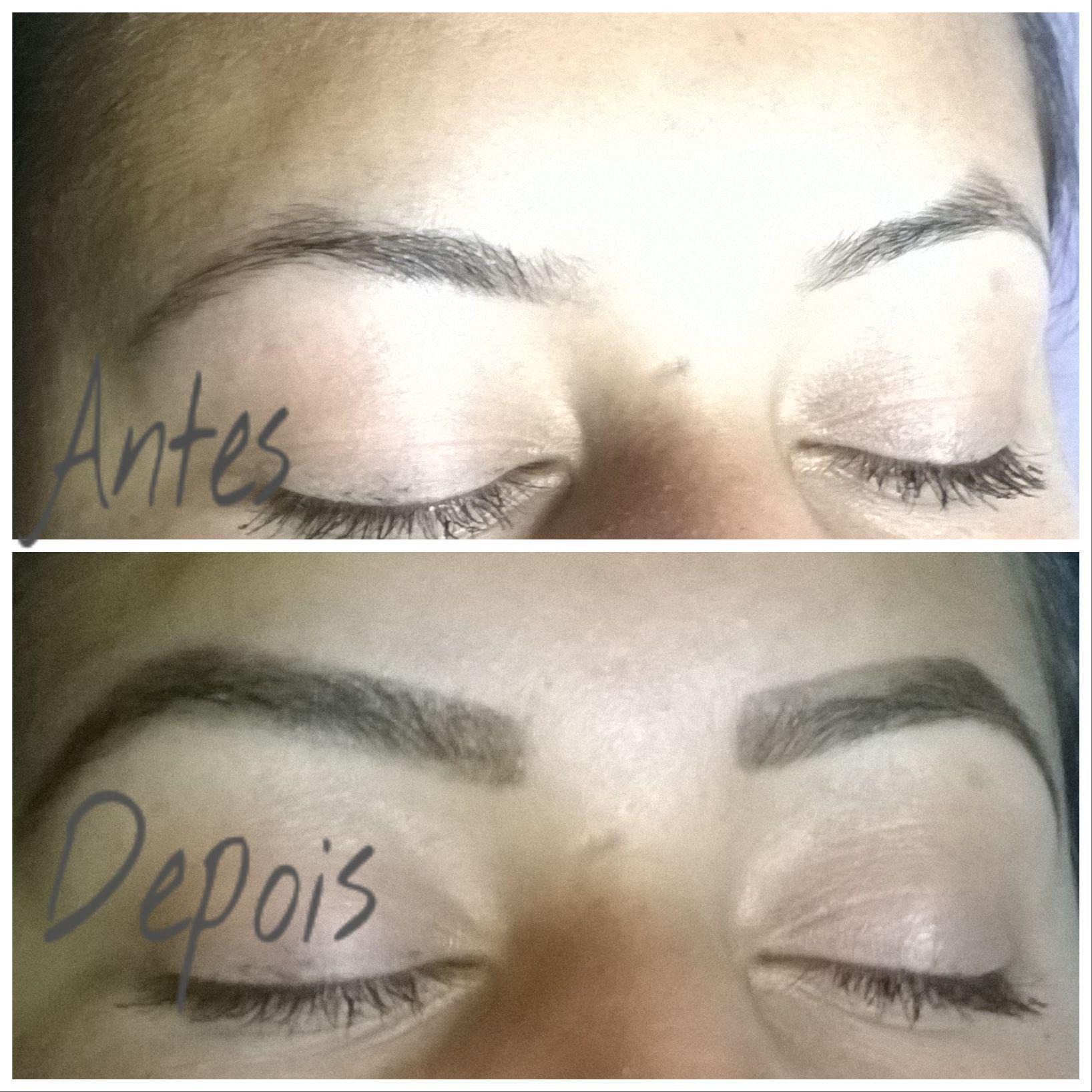 Design de sobrancelhas.Maquiagem com lápis castanho. outros cabeleireiro(a) cabeleireiro(a) cabeleireiro(a)