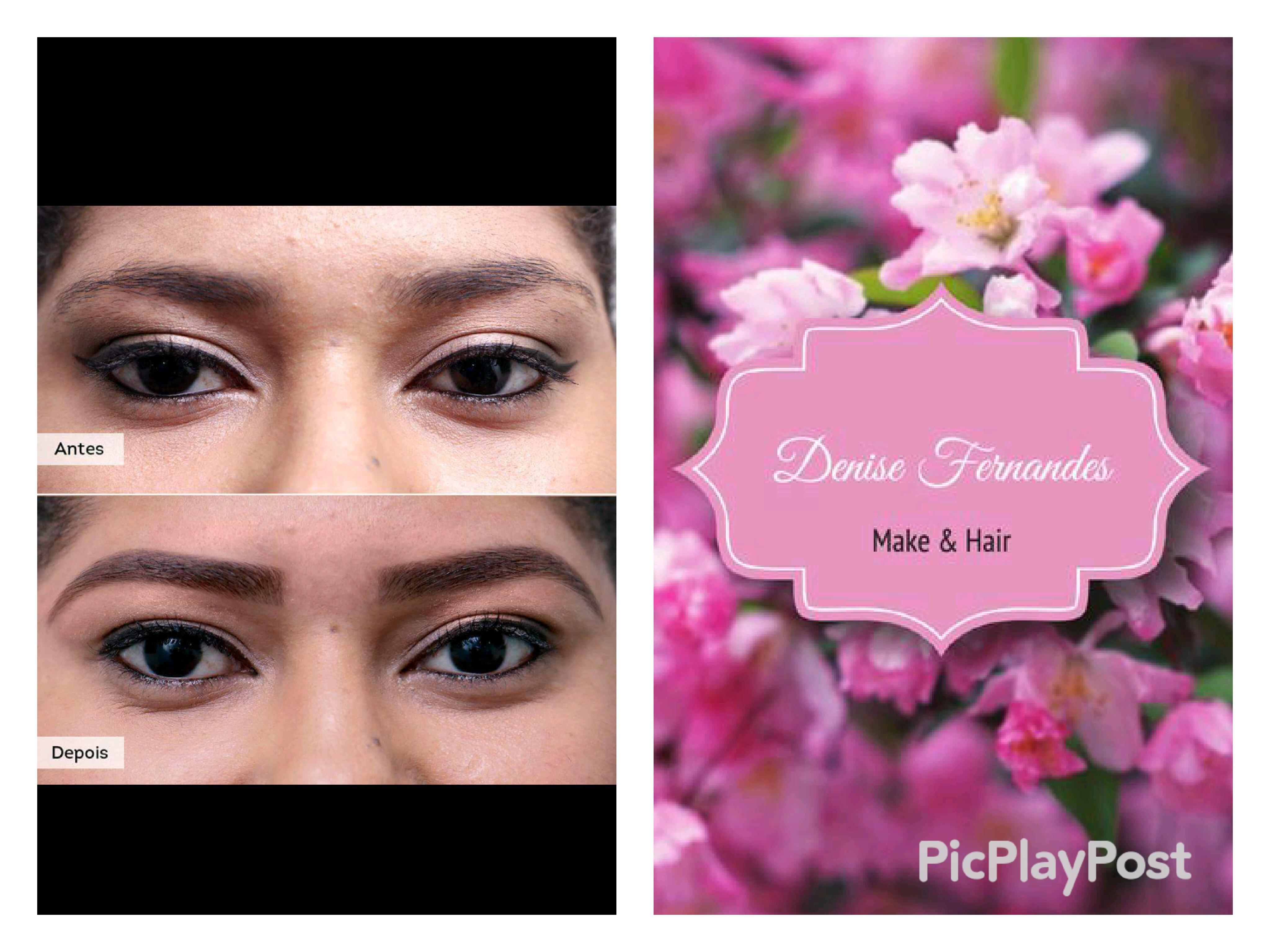 Design de Sobrancelhas estética maquiador(a) designer de sobrancelhas