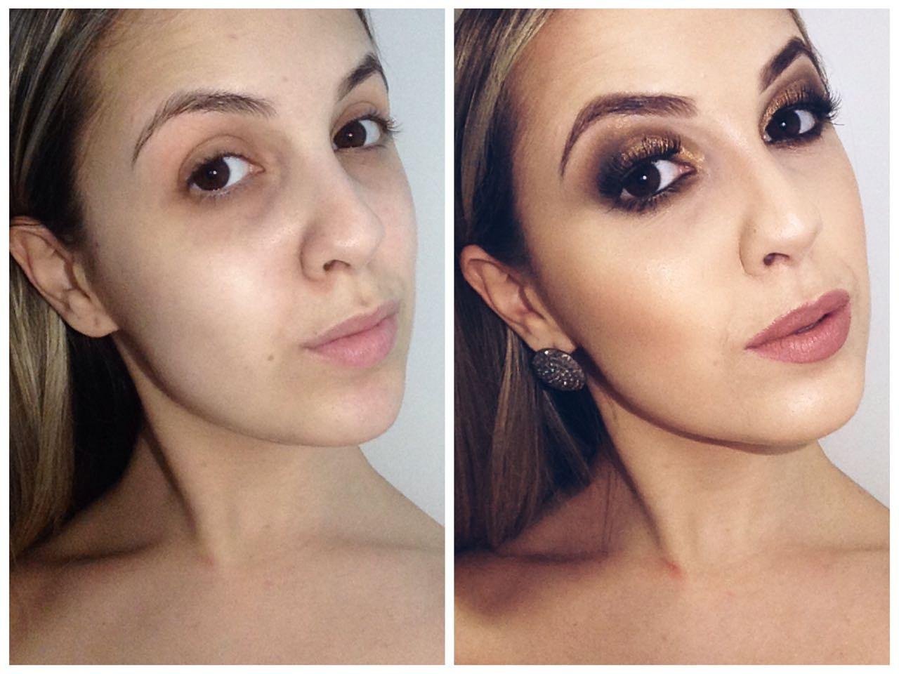 Exemplo de como uma make pode realçar a beleza natural <3 <3 #diferença #detalhes #focanadiferença #maquiagembrazil #poramor maquiagem maquiador(a) designer de sobrancelhas recepcionista estudante (esteticista) manicure e pedicure micropigmentador(a)