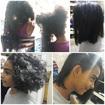 Devido aos mãos cuidados com o cabelo, o cabelo embaraçou de uma forma que tivemos que cortar, e um lado do cabelo ficou mais curto, então fiz um corte mais radical e uma escova progressiva.