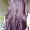 Tintura com violeta agenciana