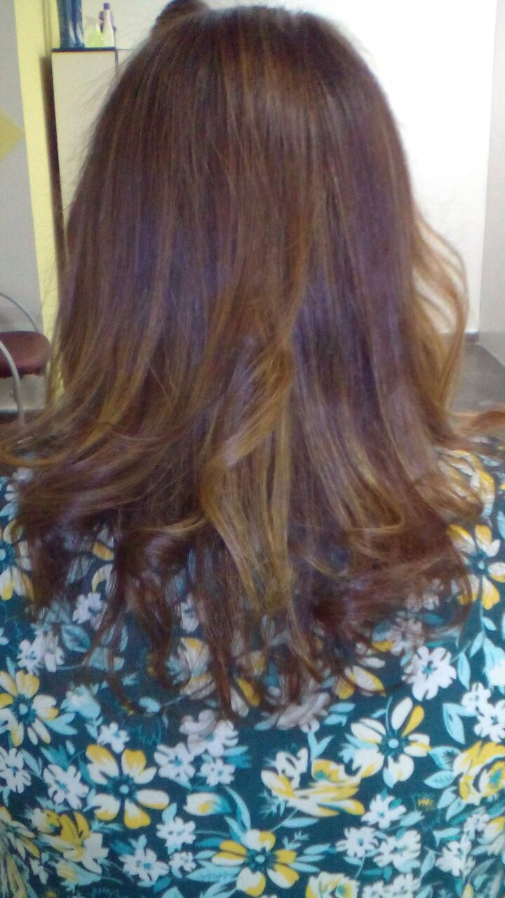 Depois cabelo auxiliar cabeleireiro(a)