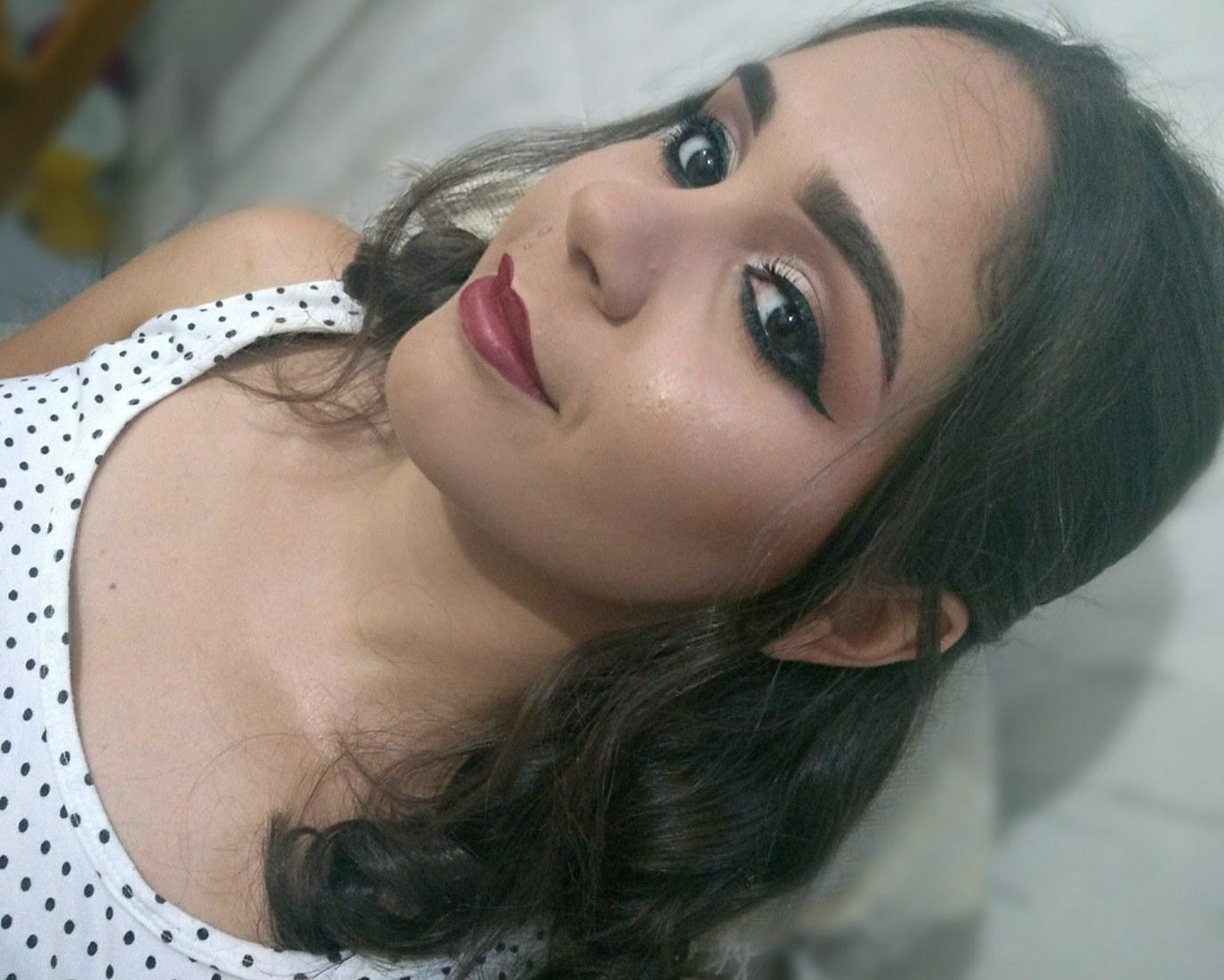 Semi cut crease 😍 #makeupraynascimento maquiagem maquiador(a) designer de sobrancelhas