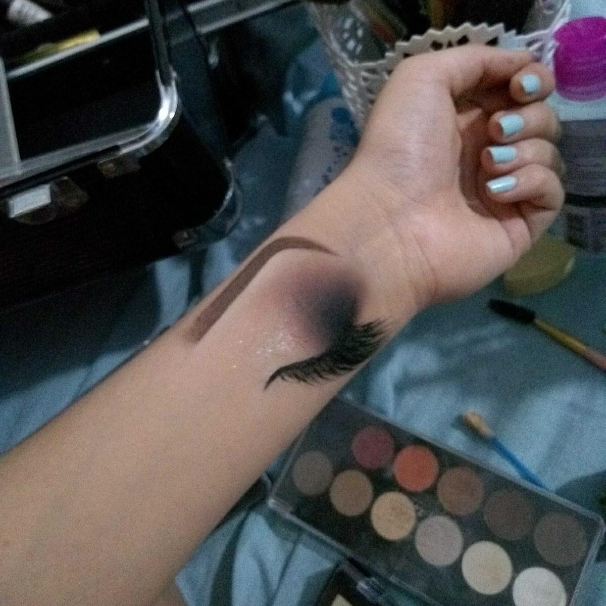 Croqui de mão 😍❤️ #makeupraynascimento maquiagem maquiador(a) designer de sobrancelhas