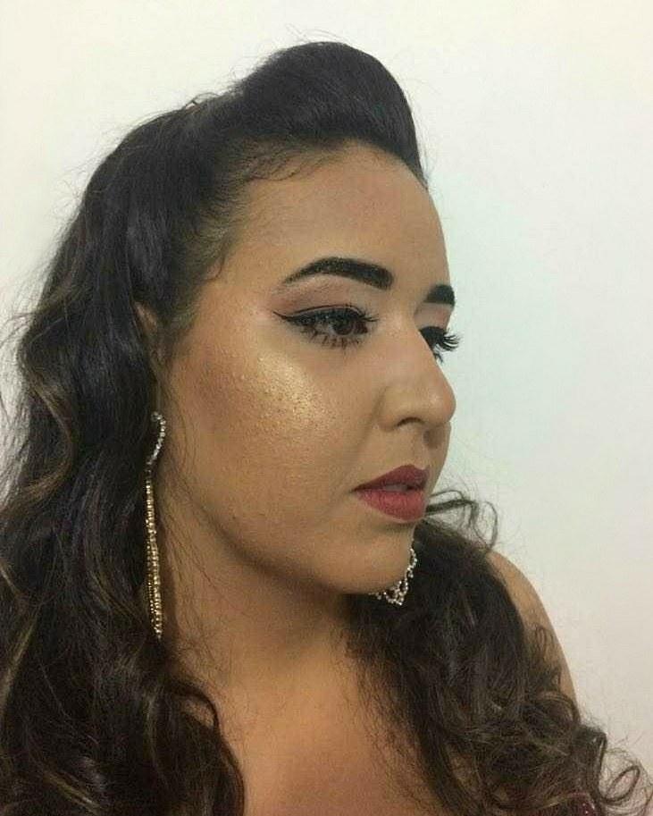 Linda!!  #makeupraynascimento maquiagem maquiador(a) designer de sobrancelhas