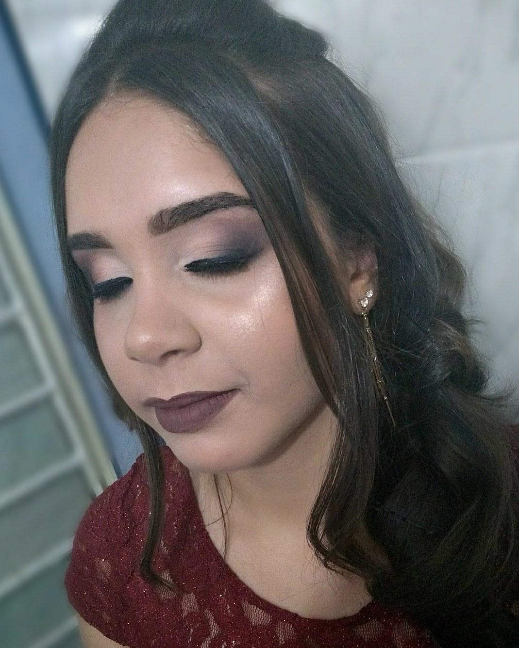Esfumado sem marcação 🔥❤️ #makeupraynascimento maquiagem maquiador(a) designer de sobrancelhas