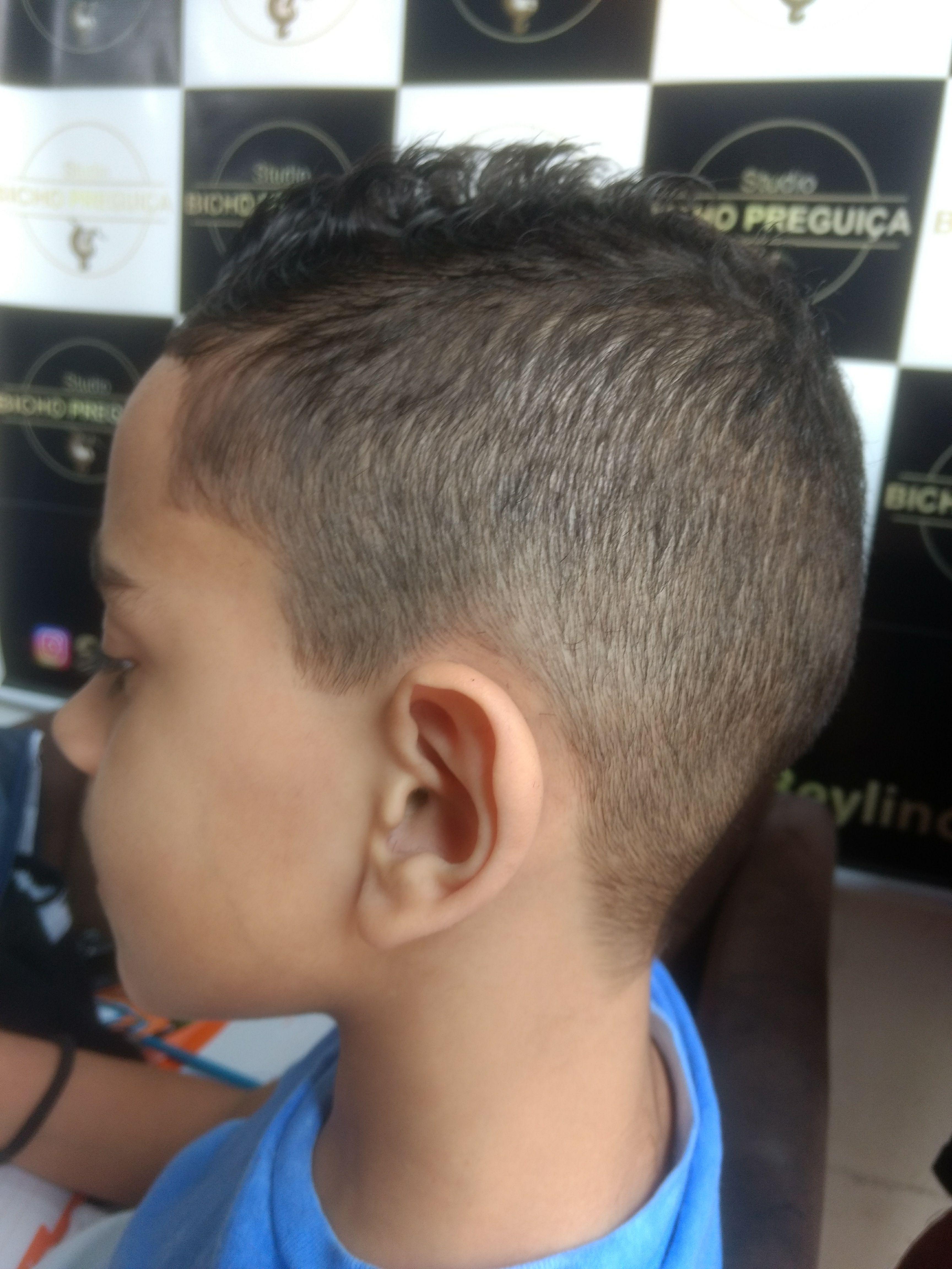 #Infantil #degrade cabelo barbeiro(a)