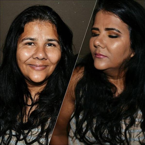 PELE MADURA maquiagem maquiador(a)