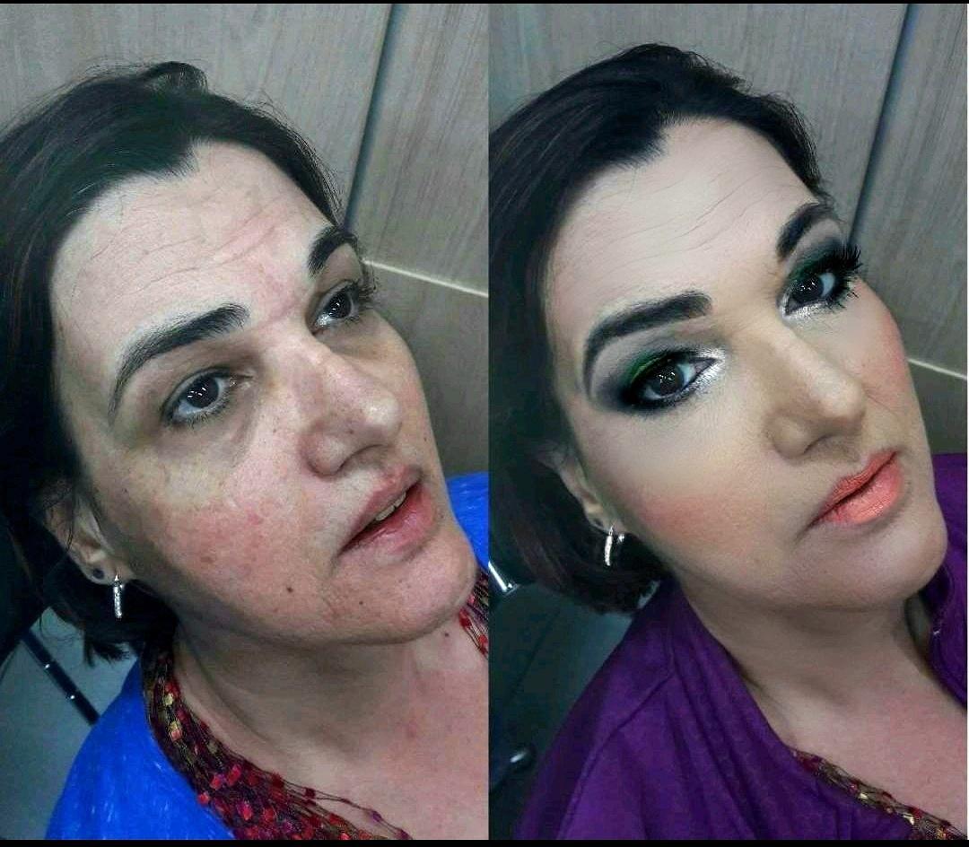 Maquiagem para noite de natal maquiagem