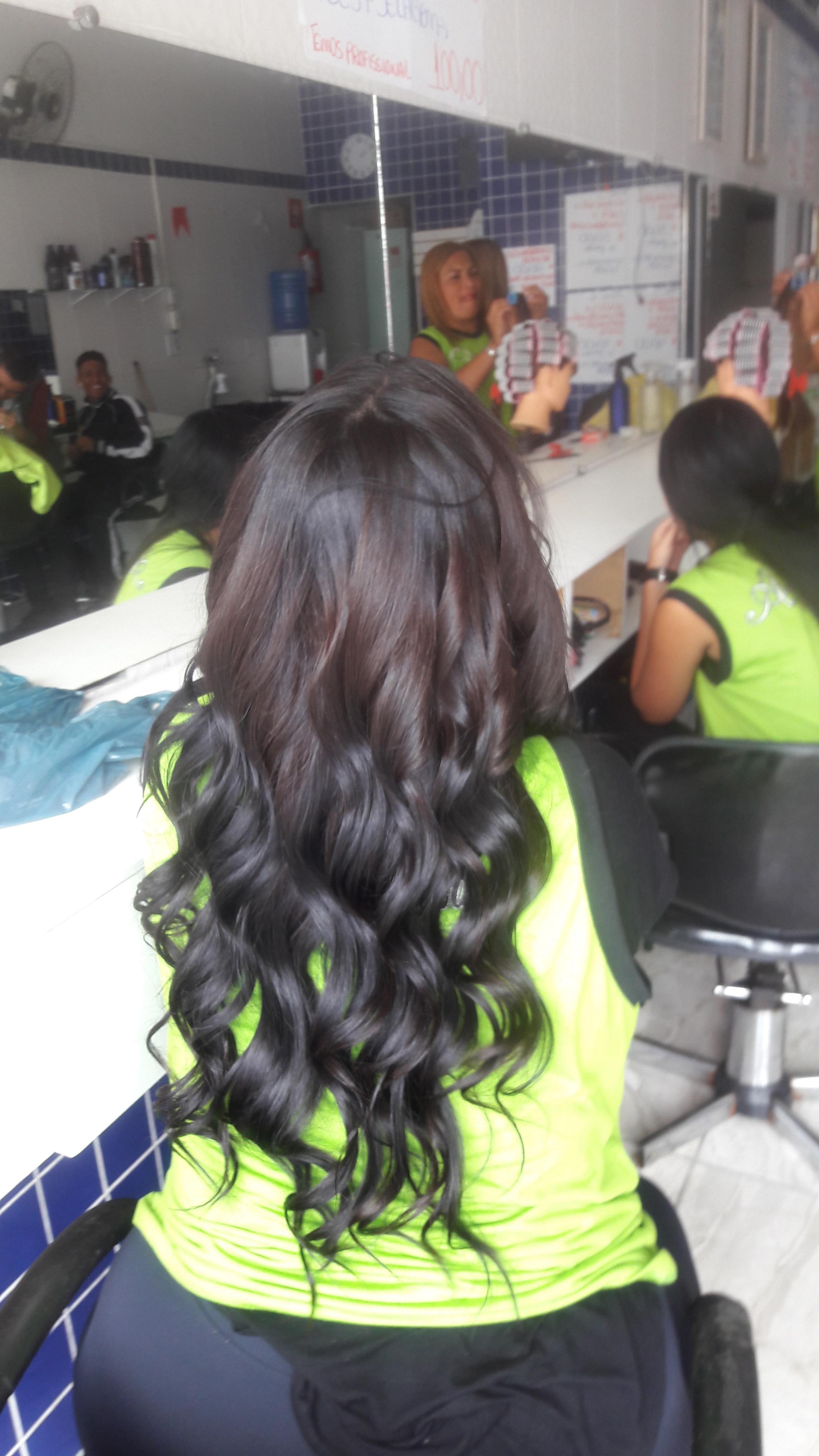 Cachos babyliss cabelo cabeleireiro(a)